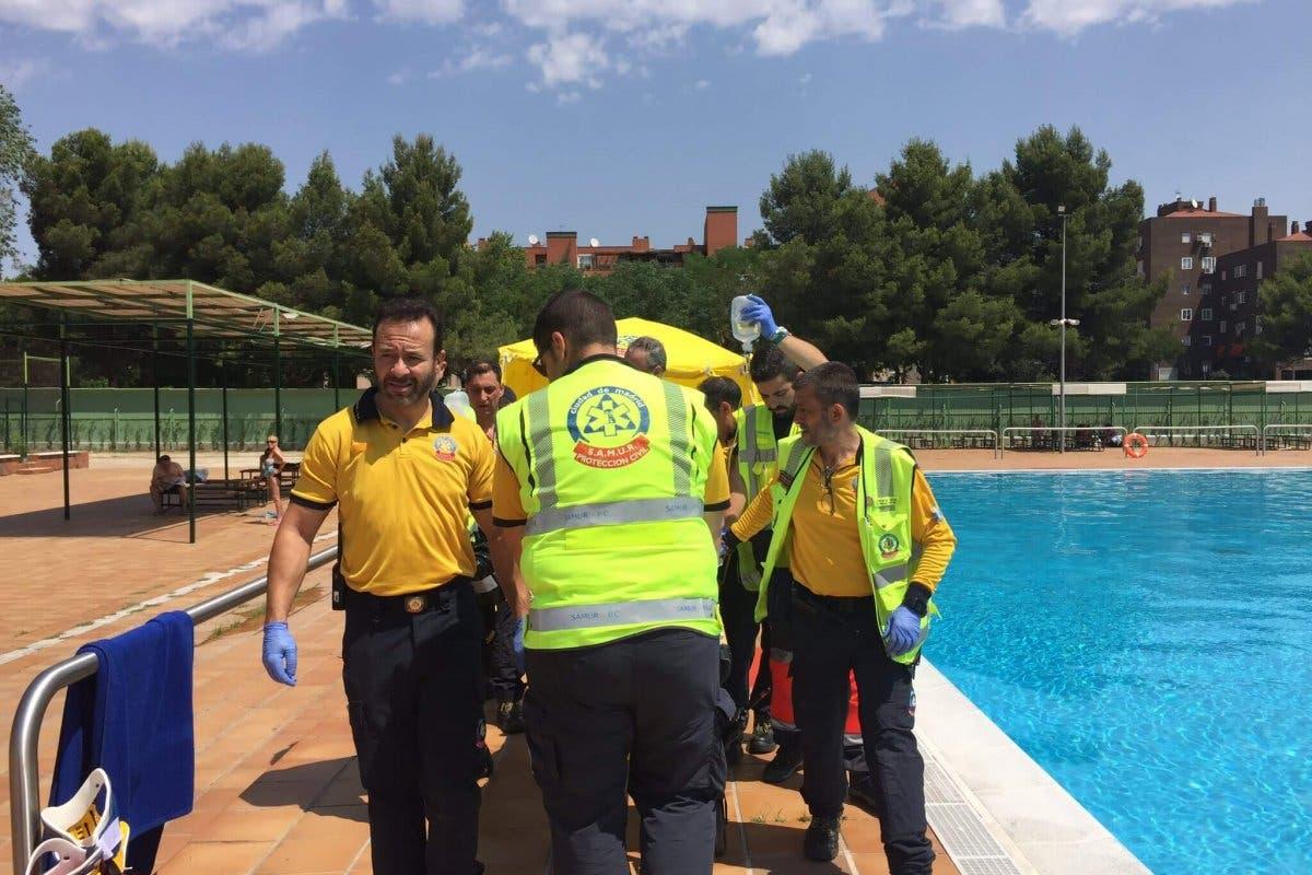 En estado crítico un bañista rescatado de piscina municipal de Madrid