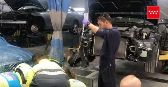 Herido grave un trabajador en un taller de Algete