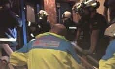 Herido un joven al desprenderse un ascensor desde un cuarto piso