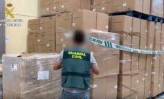 Tres detenidos tras ser descubierta una nave en Daganzo con mercancía robada
