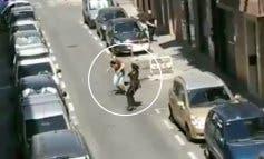 Un joven intenta apuñalar a varios policías en Carabanchel