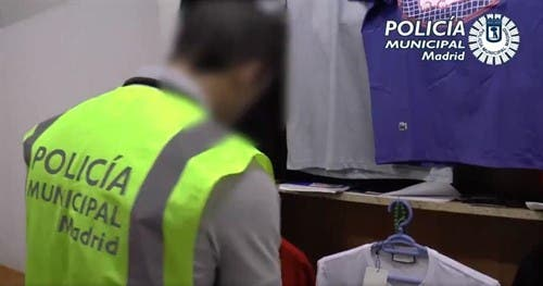 Operación abierta contra el top manta en Madrid