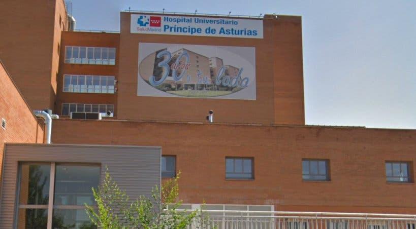 Teresa recibe el alta médica en el Hospital de Alcalá de Henares