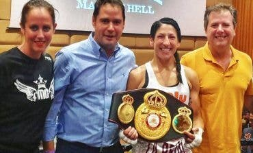 Miriam Gutiérrez, la concejala de Torrejón que peleará por el Mundial de peso ligero