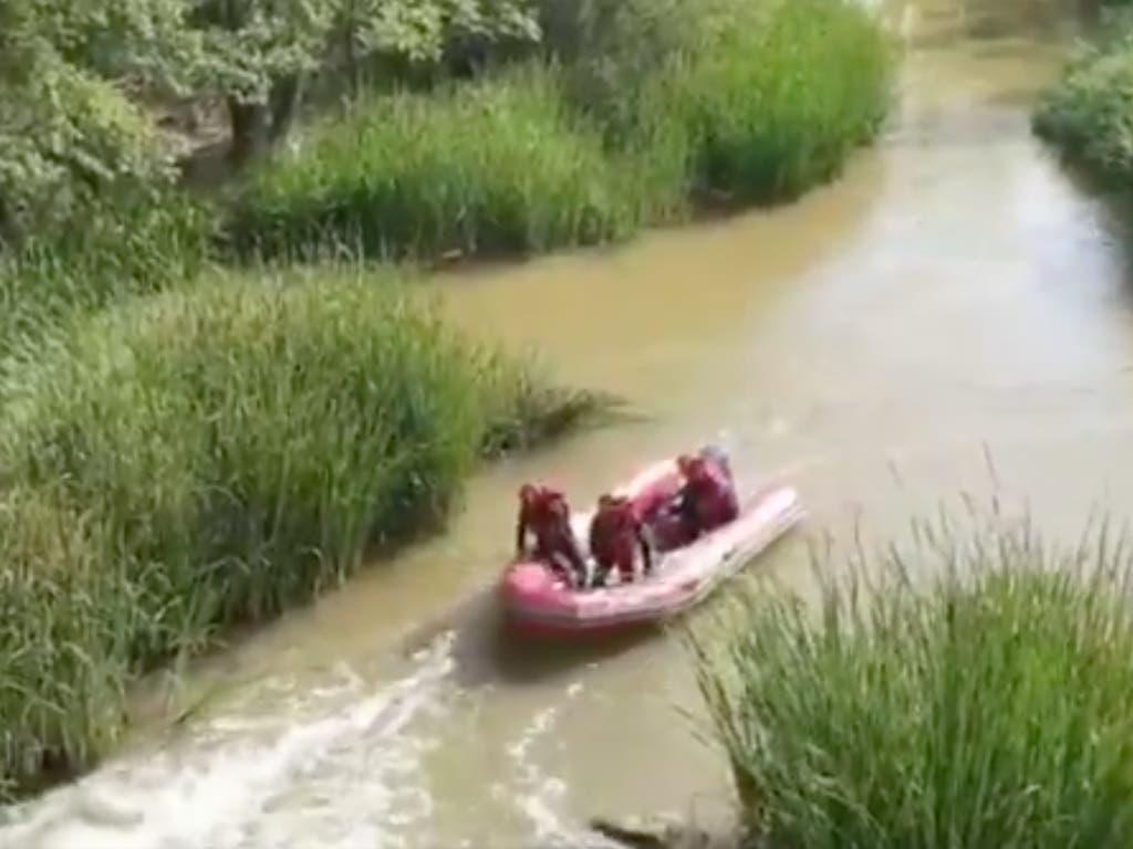 Muere un hombre ahogado en el río Henares