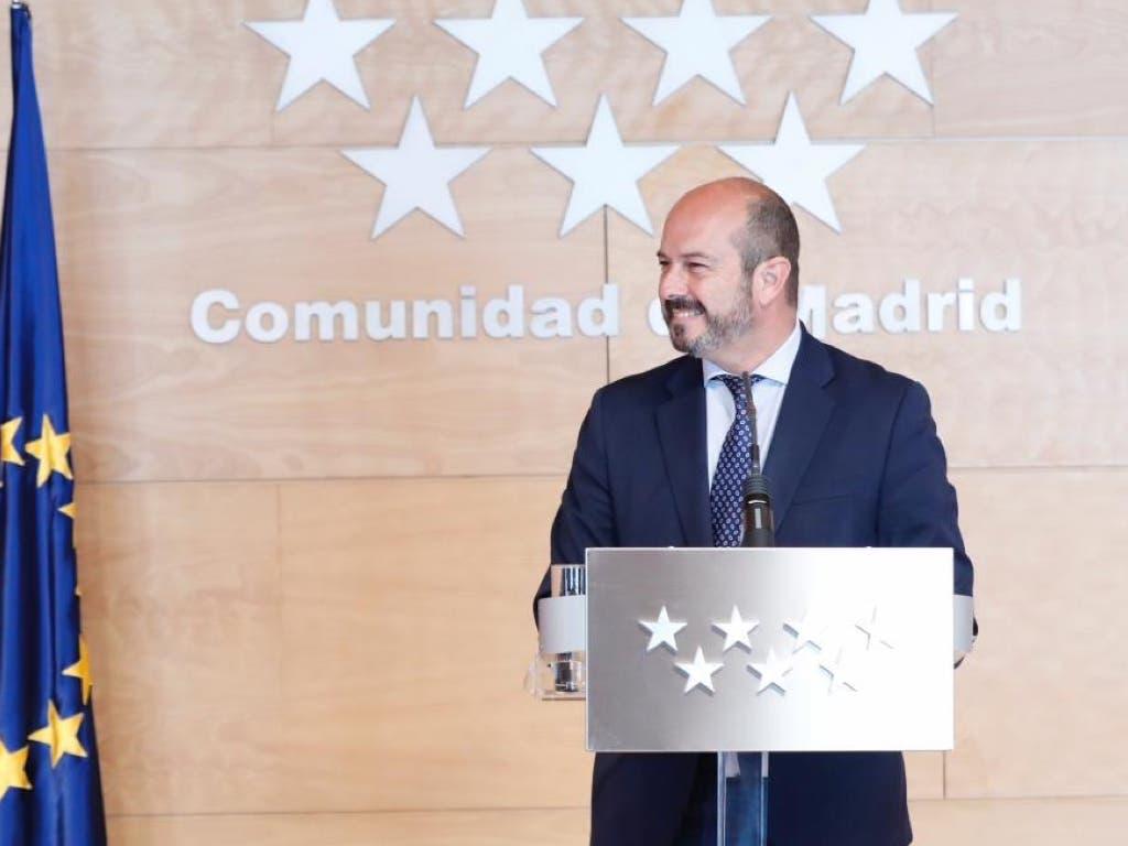 Pedro Rollán, número dos del PP al Senado por Madrid