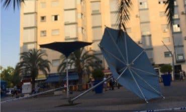 El viento deja varias incidencias en el Corredor del Henares