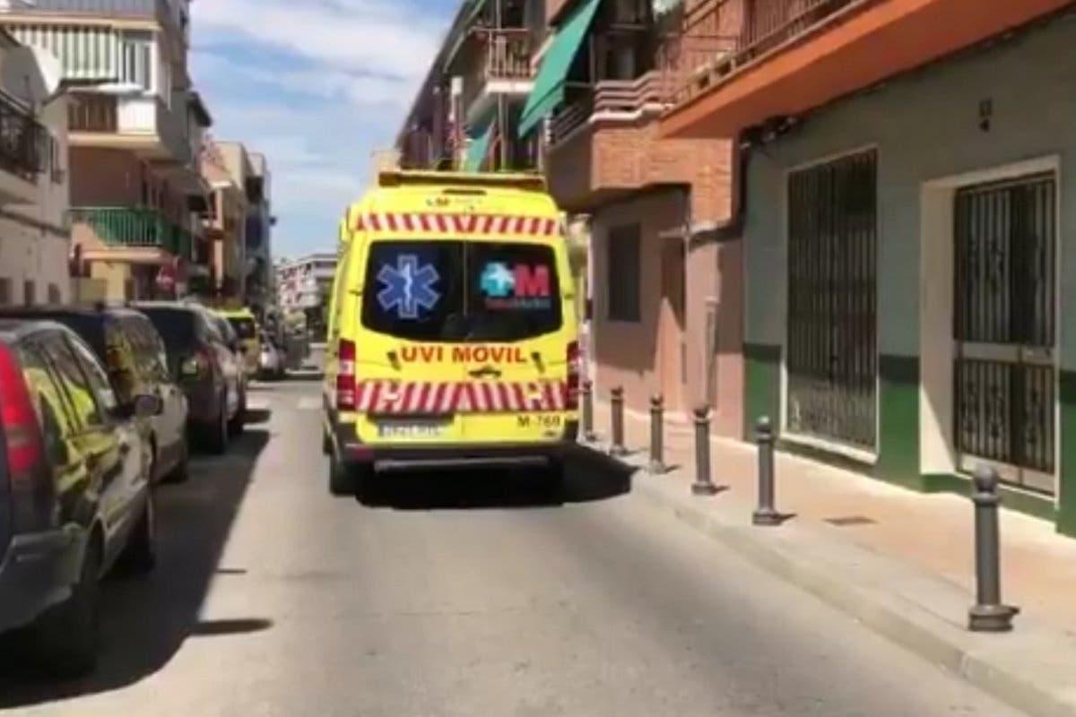Muere un hombre aplastado por un muro en San Fernando de Henares