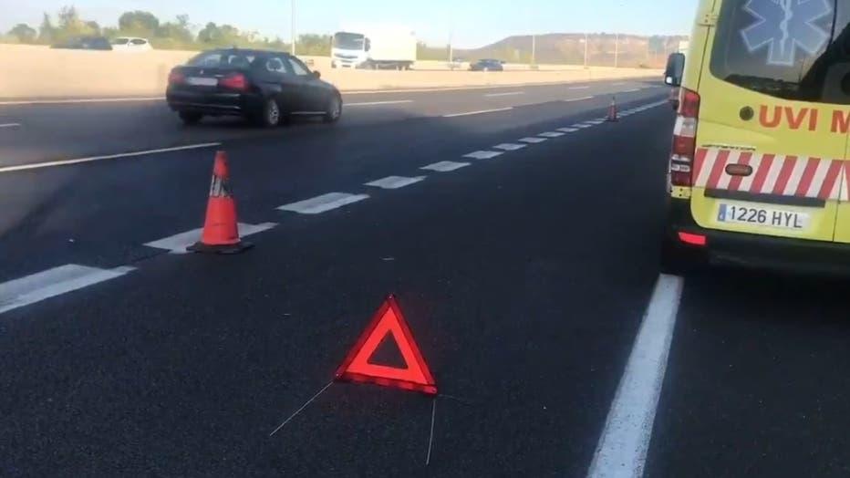 Muere un hombre atropellado en la A-2, en Alcalá de Henares