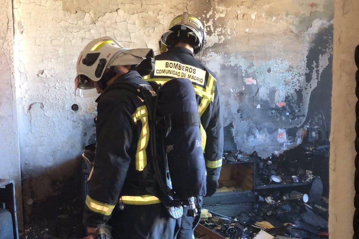 Muere una mujer de 78 años tras incendiarse su casa en Ciempozuelos