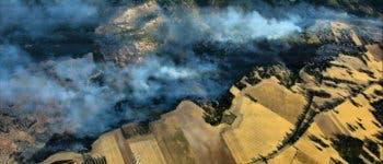 Continúan activos los incendios declarados en Guadalajara y Loranca de Tajuña