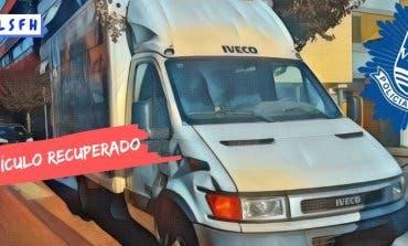 Recuperan en San Fernando un camión que había sido robado en Meco