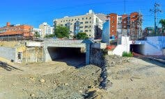 El nuevo túnel de la calle Enmedio de Torrejón abrirá en noviembre