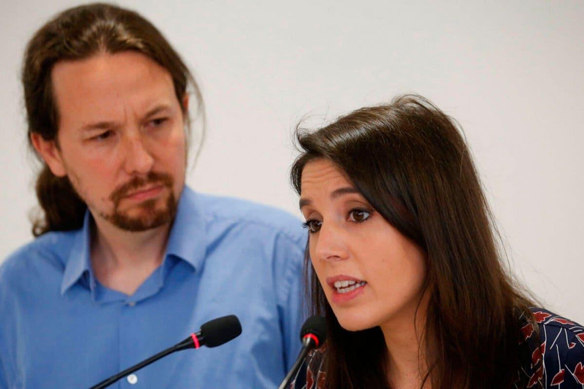 Irene Montero y Pablo Iglesias anuncian el nacimiento de su hija Aitana