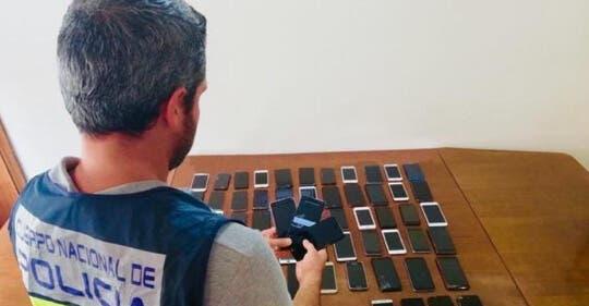 Viajaban desde Madrid a Alicante para robar móviles en Benidorm