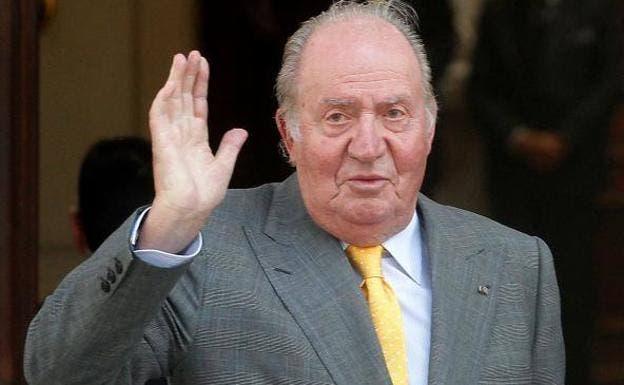 El rey Juan Carlos salda una deuda con Hacienda de678.000 euros