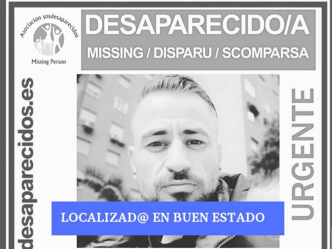 Localizado el desaparecido desde el 9 de julio en Alcalá de Henares