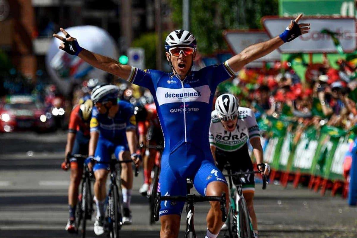 Gilbert gana la decimoséptimaetapa de la Vuelta en Guadalajara