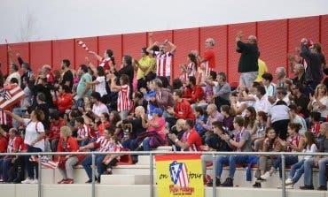 El Atleti Femenino estrenó este domingo su nueva Ciudad Deportiva en Alcalá de Henares