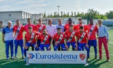 La AD Torrejón debutó este domingo en Tercera División en Las Veredillas