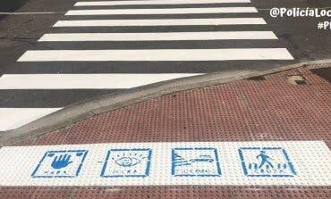 San Fernando de Henares estrena pasos de peatones adaptados para niños autistas
