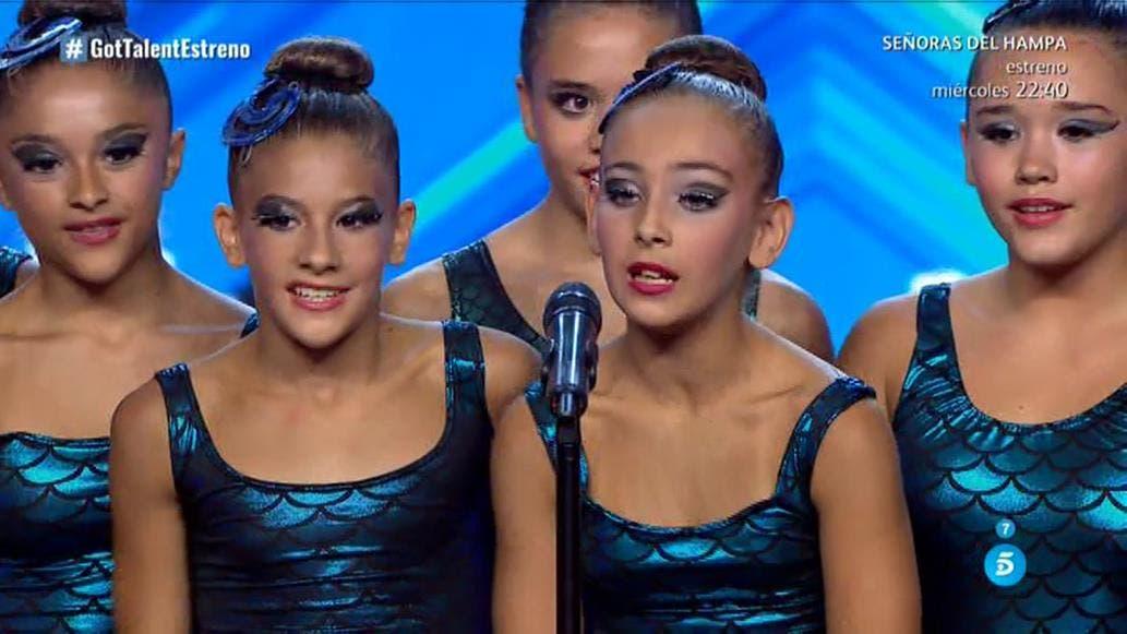Las niñas de Velilla y San Fernando que triunfan en Got Talent