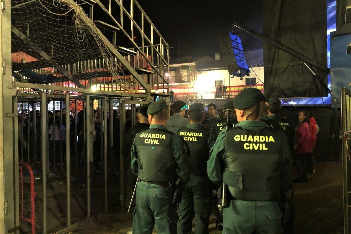 Fiestas Campo Real: Podrían haberla liado pero se les prohibió la entrada