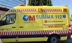 Herido grave un ciclista en Coslada tras chocar contra un camión