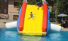 Dj, tobogán hinchable y animación para despedirse de lás piscinas de Paracuellos