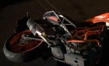 Muere un joven en un accidente de moto en Collado Villalba