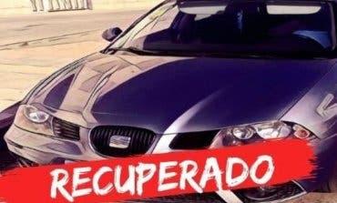 Recuperado en San Fernando un coche robado en Torrejón
