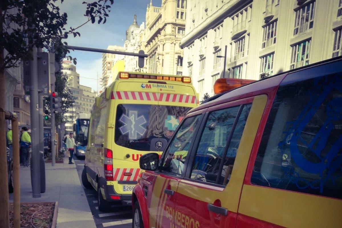 Muere un trabajador en Gran Vía tras caer por el hueco de un ascensor
