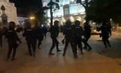 Radicales independentistas provocan disturbios en Madrid: cuatro detenidos y un policía herido