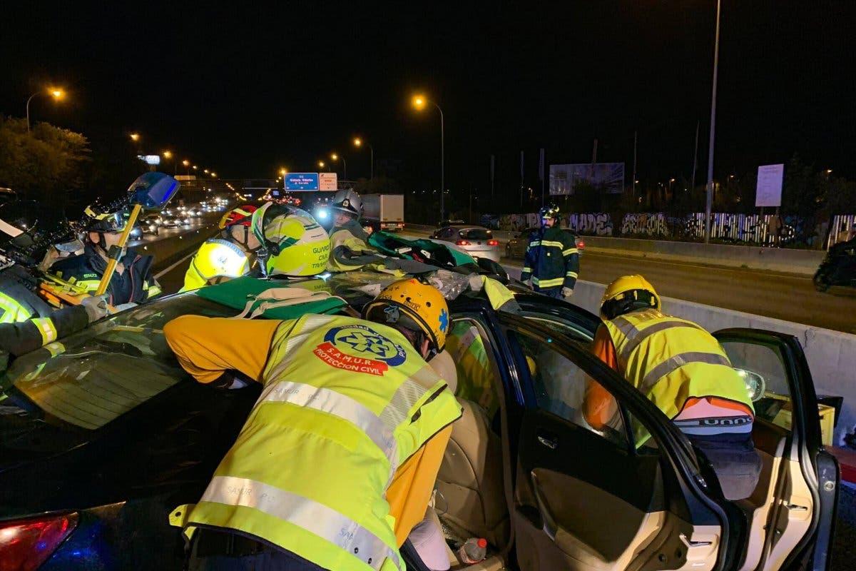 Accidente Bus-VAO A-6: Circulaba en sentido contrario por error