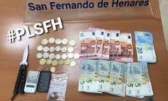 Detenido en San Fernando de Henares por menudeo de droga en un parque