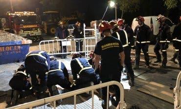 Rescatado un obrero en Torrejón tras más de 8 horas atrapado en una zanja