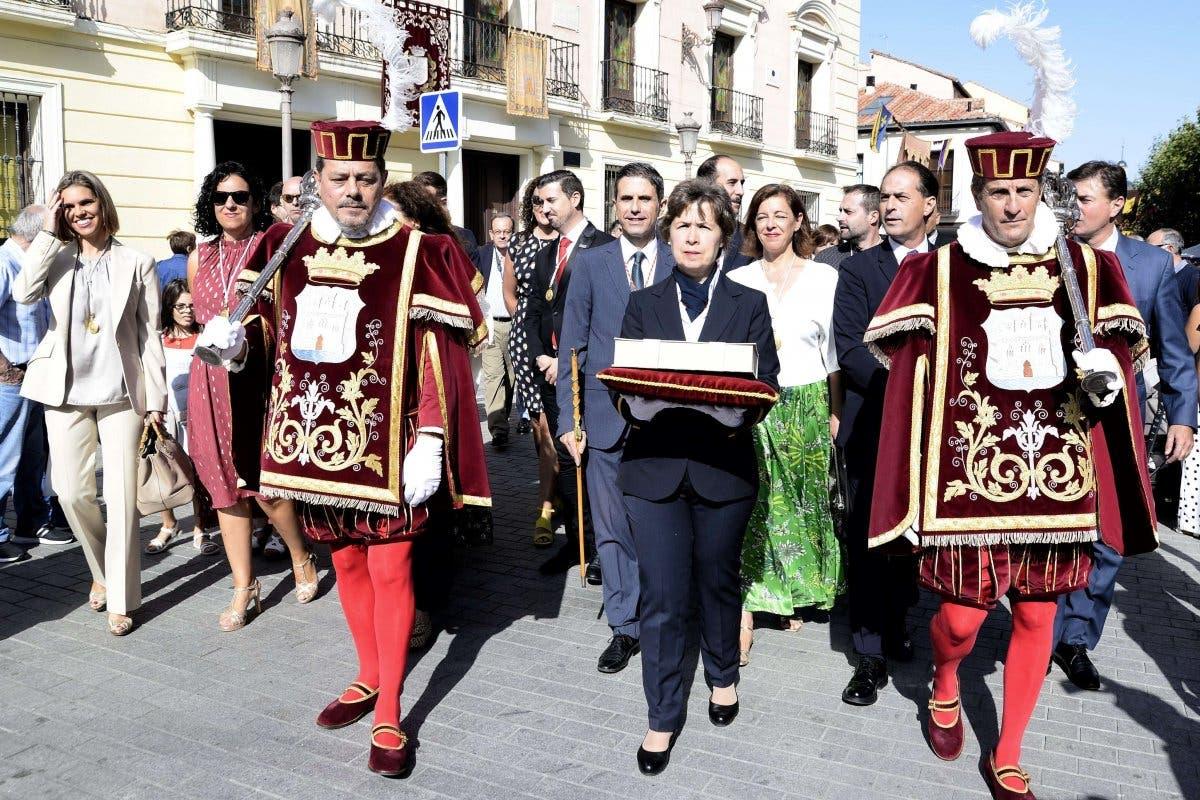Alcalá de Henares ha celebrado este miércoles el bautismo de Cervantes