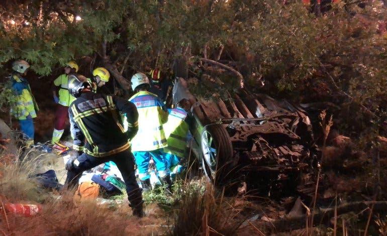 Muere un joven de 17 años en un accidente en la M-608