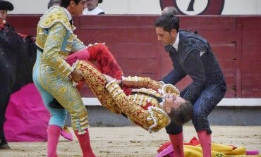 Muy grave el torero de Torrejón Gonzalo Caballero, corneado en Las Ventas