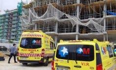 Herido muy grave un trabajador al caer desde nueve metros de altura en Tres Cantos
