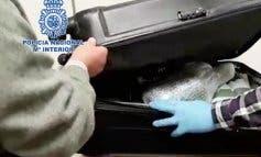 La Policía interviene 28 litros de MDMA en el aeropuerto de Barajas