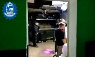 Desalojan una rave en San Fernando de Henares con menores y alcohol