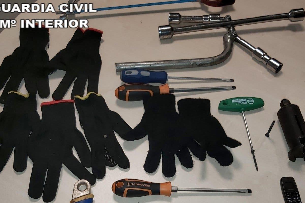 Cuatro personas detenidas por robo en Azuqueca de Henares