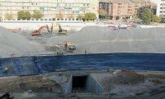 Comienzan los desvíos en la M-30 por la demolición de la grada del Calderón