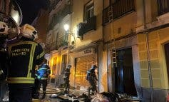 Una familia realojada tras incendiarse su casa en Madrid
