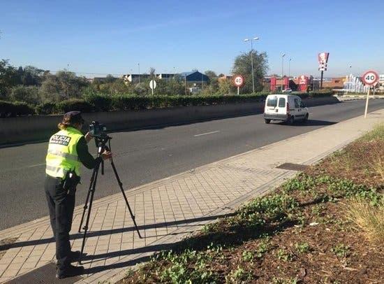 La Policía de Arganda intensifica los controles de velocidad