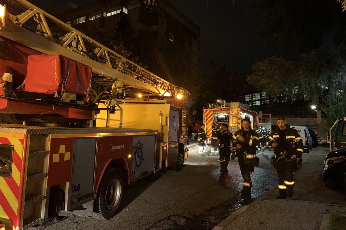 Dos heridos graves tras una explosión en el cuarto de calderas de un edificio de Chamartín