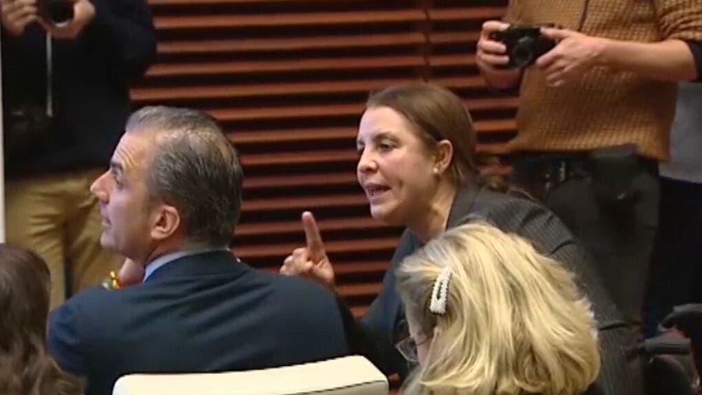 Ortega Smith, reprobado en el Ayuntamiento de Madrid tras negar la violencia machista