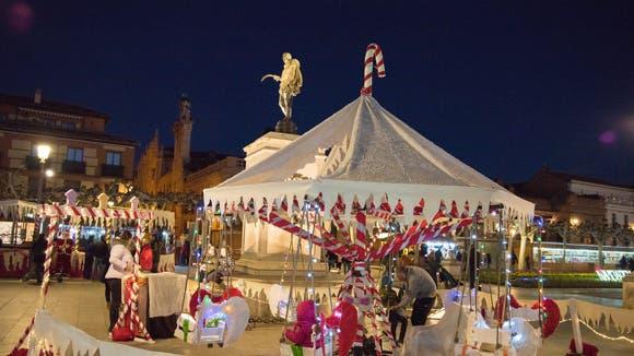 Alcalá de Henares enciende la Navidad en el centro este viernes
