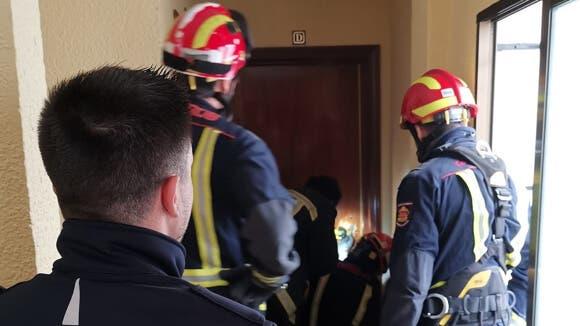 Rescatada una anciana accidentada en su vivienda en San Fernando de Henares